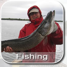 Fishing for Pike, Walleye, Bass and Muskie